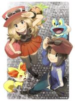 Pokemon XY by Pinkish-Sasa