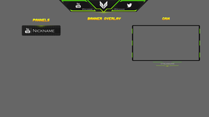 Template [Free Twitch Overlay] #6 by Ayzs
