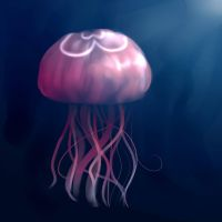 jellyfish :33 by MisiaPanda