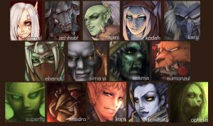 TEASER: Faces of ShC Horde by LisaCunha