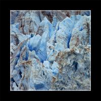 Blue Ice Cube 1 by e-CJ