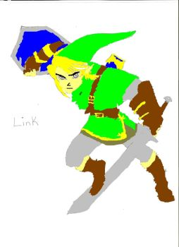 Link,the hero of the Twilight by VincentValentine1295