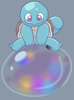 DaD Day 102: Bubble Bouncing by Halabaluu