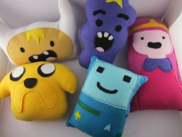 Adventure Time Plushies by LittleCritters00