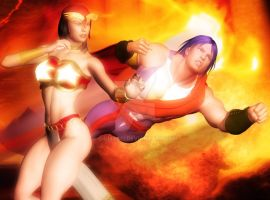 Servant and Darna by giumabei