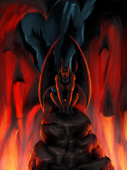 The Dark One by Beast-of-the-Forest