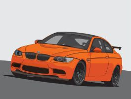 2011 BMW M3 GTS vector by Koxy911