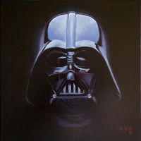 Darth Vader by iconicafineart