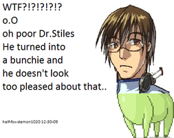 XD XD XD POOR DR STILES by half-fox-demon1020