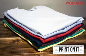 Wordans | Custom Tees - Print on it ! by wordanscustomtshirts