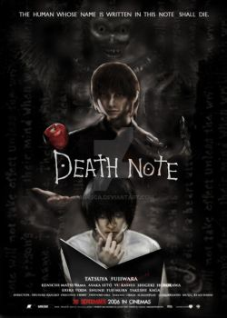 Death Note -fake- Movie Poster by Arasca