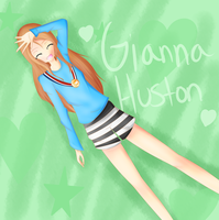 GiannaHuston drawing request by cookiekya