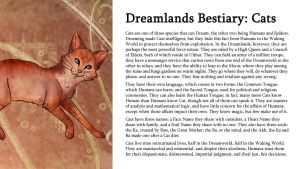 Dreamlands Bestiary: Cats by TeamGirl-Differel