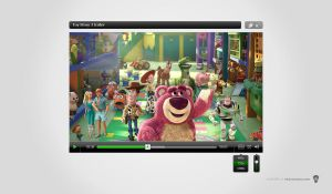 Video Player Free PSD by victorsosea