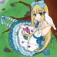 Alice in Wonderland Anime Styl by basabeo