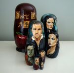 Once Upon a Time Nesting Dolls by bachel60