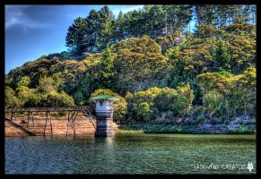 Ross creek reservoir HDR by shadowfoxcreative
