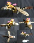 Scootaloo riding a cloudsweeper! by PrototypeSpaceMonkey