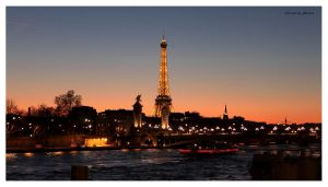The Eiffel Tower by Elessar91