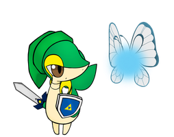 Link Snivy: Navi Butterfree by PokeHihi