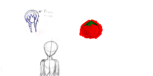 I have drawn a tomato. by SolidArrow