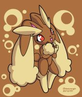 Lopunny by Shineymagic