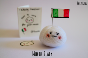Mochitalia Pet: Mochi Italy Plush by Pinutie
