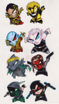 More chibis by MW-Industries