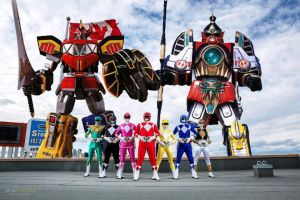Mighty Morphin Power Rangers by AirSharkSquad