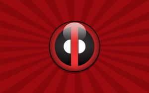 Deadpool Logo 02 Wallpaper by Namelessv1