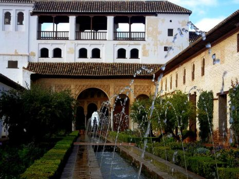 Alhambra Fountains by No-2B