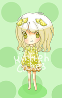 :adoptable: - Key Lime Pie -CLOSED- by kittiehcakes