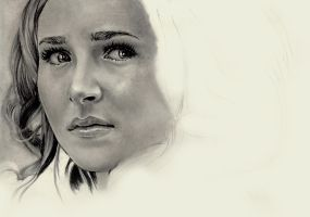 Hayden Panettiere WIP 2 by Charlzton