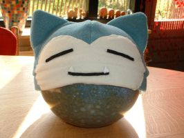 Snorlax hat by LadyCrypt
