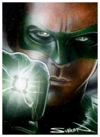 Green Lantern Sketch Card 2 by RandySiplon