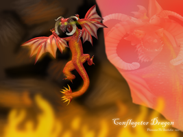 Conflagotor Dragon by FlameFatalis