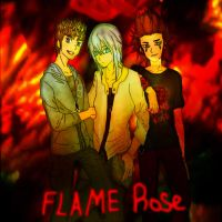 Music in Me FanficCover - FLAMEROSE by Highwind-Sniper