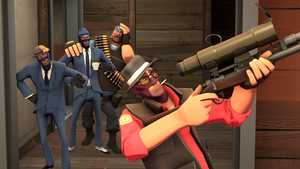 the spy who wanted to be a sniper by 19crowbar19