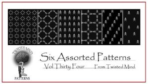 Twisted Mind Assorted Pattern Set 34 by Textures-and-More