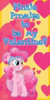 Crystal Pinkie Pie Valentine Card by Kurenai-Hio