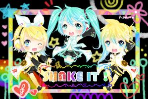Shake it ! by Pichiruu