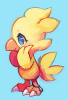 kweh by extyrannomon