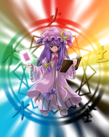 -Touhou - 5 Elements Sign by Wanganator