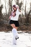 Kicking the snow by Giorgiacosplay