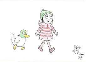 Sarah and Duck by FFF66