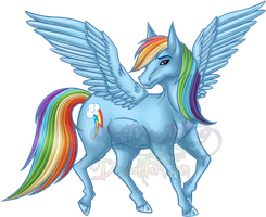 MLP Event - Rainbow Dash by QilinDynasty