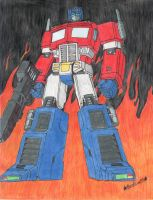 Optimus Prime G1 by BeePrime93