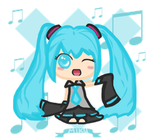 Hatsune Miku Contest Entry by SkyWinds