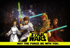 Star Wars: Collective by Rathan-Marxx