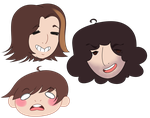 Game Grumps Stickers by Brooklton
